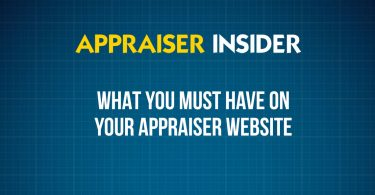 What you must have on your appraisal website