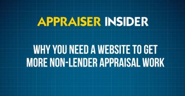 Why you NEED a website to get more non-lender appraisal work